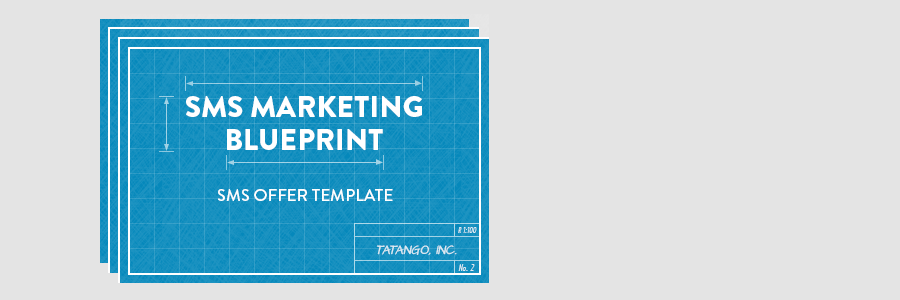 SMS Offer Template - Blueprint
